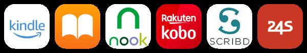 Book stores logos