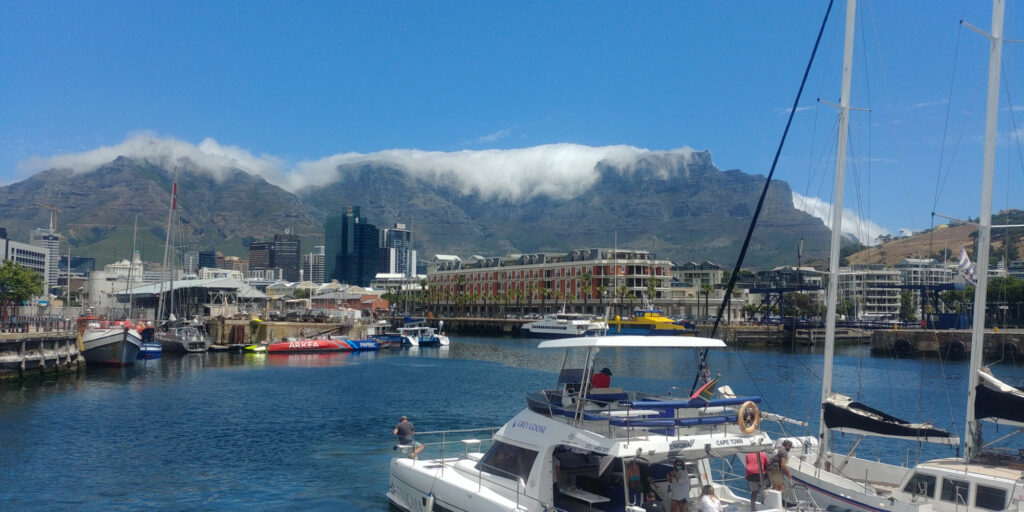 Table Mountain with its tablecloth
